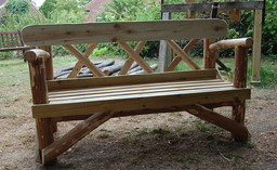 chestnut 4ft bench