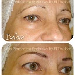 Hairstroke Semi Permanent Eyebrows By El Truchan