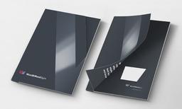Wood & Wood Signs luxury folder design and print