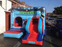 Superheros Bouncy Castle