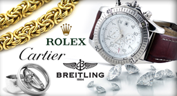 All makes of Prestige Watches - Buy-Sell-Exchange & Cash Loans Advanced