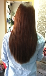 E hair after used 106 extensions of 17''
