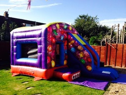 NEW FOR 2013 ... Our 12x18ft slide combo