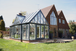 Design created to reflect the existing house