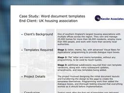 Graphics For case studies