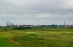 The Big One, The Tower from St Annes Old Links Golf Course