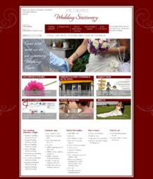 JMS Creative Wedding Stationery - Drupal site