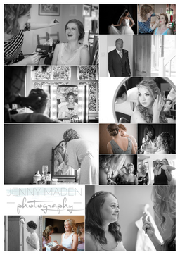 Wedding collage from across Yorkshire