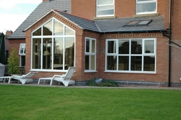 Kitchen extension (replacement for an old conservatory)
