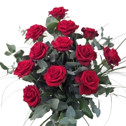 12 or 24 Beautiful Red Roses £50.00 and £90.00 + £5.00 next day delivery