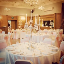 Chair cover hire, venue decor