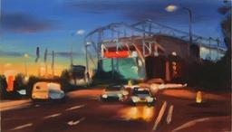 "Liam Spencer print ""Old Trafford"""