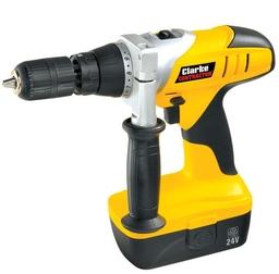 Clarke 24v Contractors Cordless Combi Hammer Drill