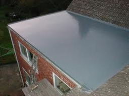 Rubber Flat Roof in one piece rubber
