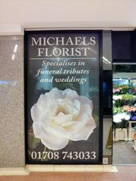 Bring trade to your door with stunning window graphics in full colour promoting products or service