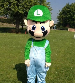 Luigi mascot costume from £40