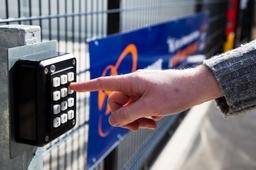 Uk Storage Company Key Code Entry