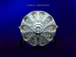 Coral Princess Ring