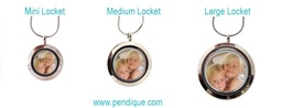 Personlaised custom photo locket backplates