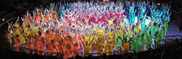 Colour coded show at The Royal Albert Hall!