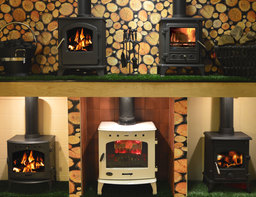 Retailing wide range of multi-fuel stoves
