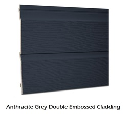 Anthracite Grey Embossed Cladding