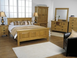 Solid Oak Bedroom & Bedframes