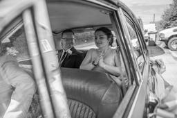 Nottinghamshire Wedding Photographer Kristy James Wedding In Misson Near Bawtry Car2