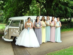 VW split screen wedding campervan Northampton