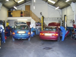Repair workshop