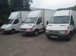 luton and sprinter 4 mtr vans