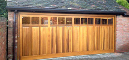 Slide upover garage door