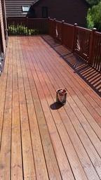 Decking Using liberon decking oil