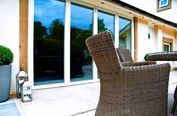 Bespoke Double Glazed Folding-Sliding Door Installation by SLW