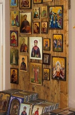 Greek Celtic Saints Icons