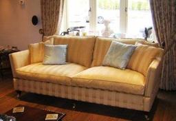 Bespoke Drop Arm Sofa