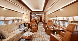 Large Private Jet Hire
