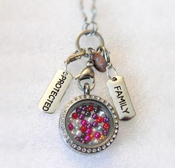 Personalised Dangle Tags for Living Lockets