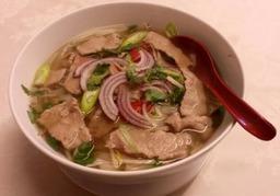 Vietnamese Pho in Beef Broth