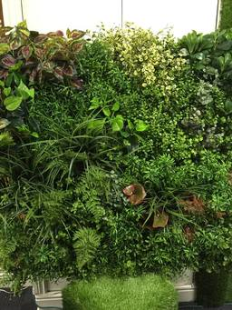 hedgedin artificial foliage vertical green wall