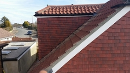 Roofing project in worthing