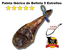 Paleta Iberica Bellota 5 Estrellas