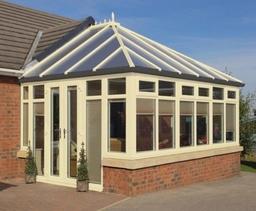 Cream Edwardian Conservatory