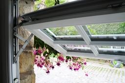 Double Glazed balanced window installation to stone cottage by SLW