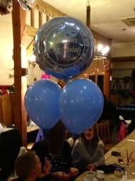 Christening Balloon Bouquet