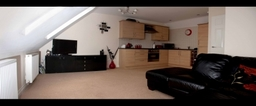 Bakers Court Hartlepool Kingfield Estates Design and Build Loft Apartment Lounge Kitchen
