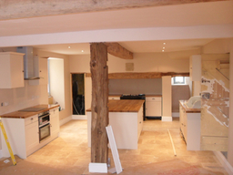 Finished Kitchen, Weston Turville