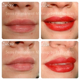 Full Lips Permanent Makeup By El Truchan @ Perfect Definition