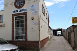 Delta Centre entrance to Peleka