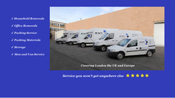 Islington removals, relocation london